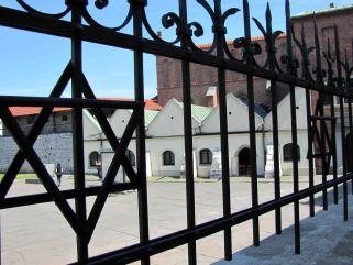 Jedna z odnowionych synagog w Krakowie.