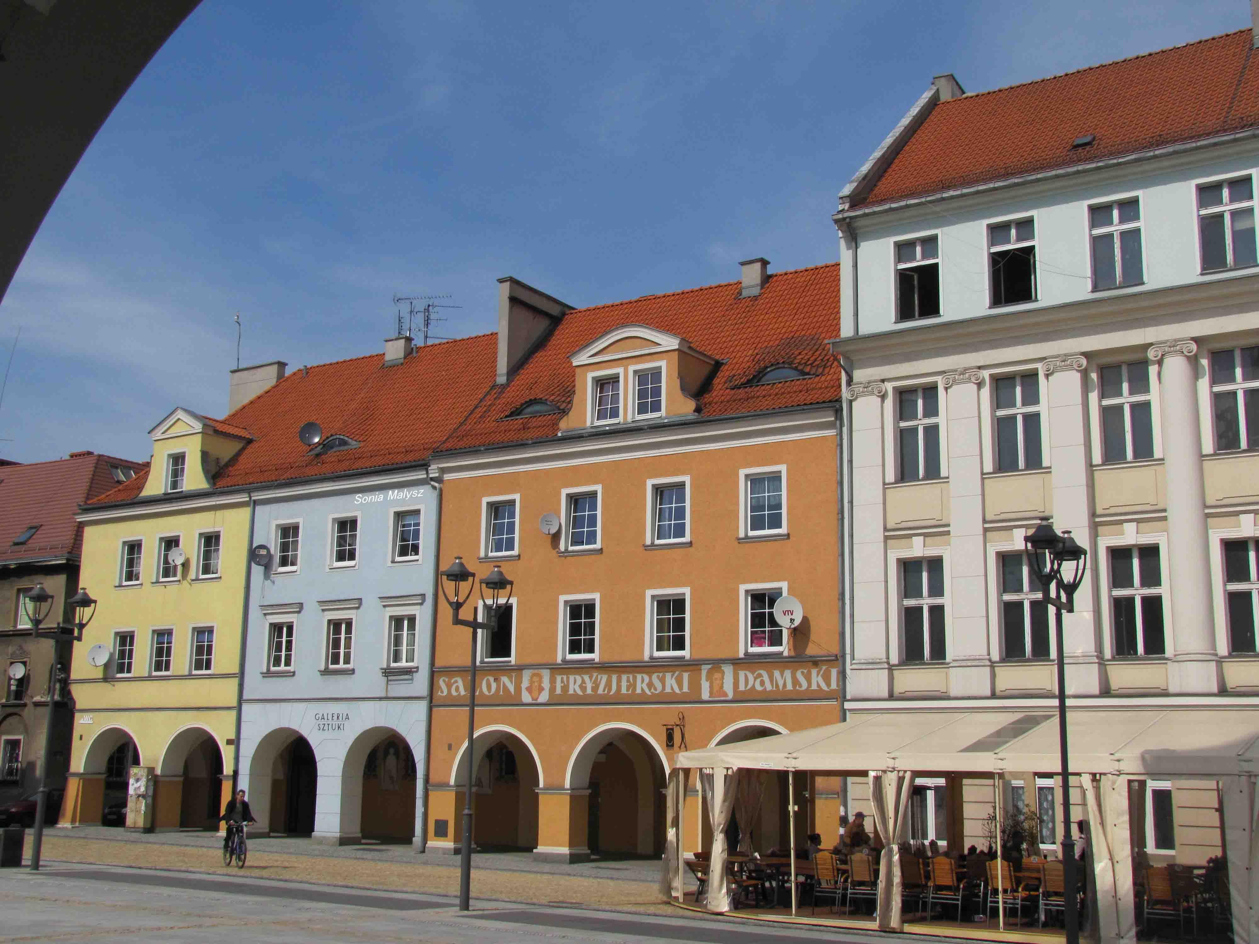 Poland Gliwice My Home Town Sonia En Route