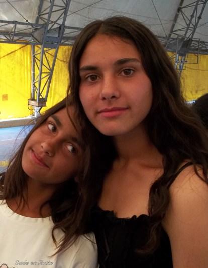 Ramona and her sister.