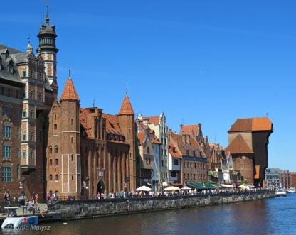 Gdansk. Riverfront.